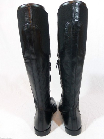 Attilio Giusti Leombruni Leather Black Boots