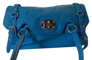 Big Buddha Satchel in Blue
