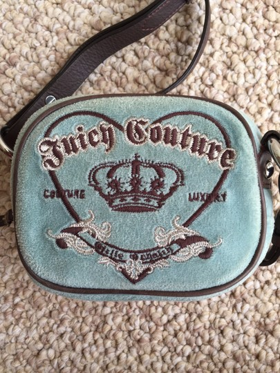 Juicy Couture Velour Cute Cross Body Bag