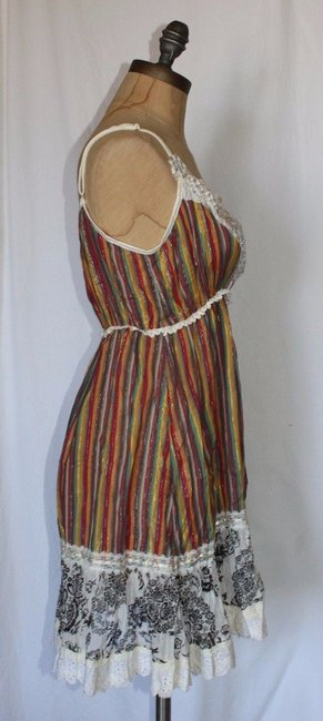 Anthropologie Hazel Striped Casual Tunic