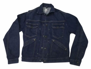Bar C Vintage 4 Denim blue Womens Jean Jacket