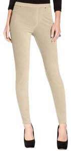 Style & Co Skinny Leg Pull-on Corduroy Fabric Size Is Pp Beige Leggings
