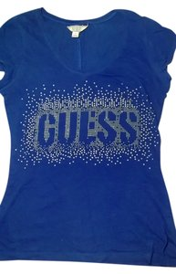 Guess Vintage T Shirt Blue