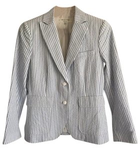 Rag & Bone Blue and white Blazer