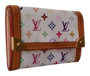 Louis Vuitton Louis Vuitton Monogram Multicolors Wallet coin/card purse