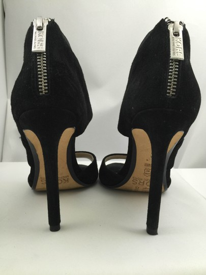 Michael Kors Vintage Collection Suede Leather Black Pumps
