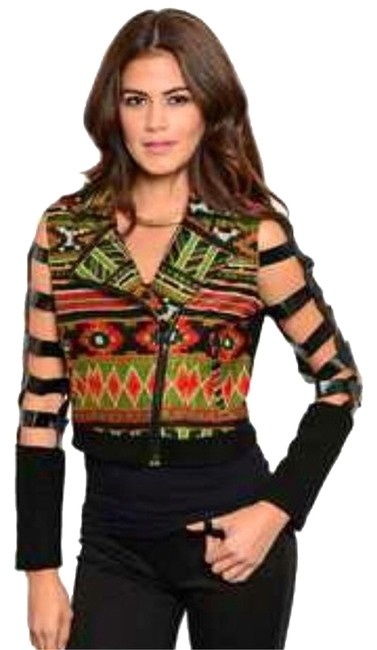Preload https://item3.tradesy.com/images/greenmulticolor-cropped-jacket-size-12-l-5328757-0-1.jpg?width=400&height=650