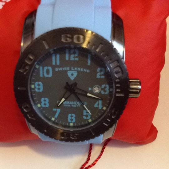 Swiss Legend Men's Swiss Legend Commander II Rubber Watch---NOTE NO BOX