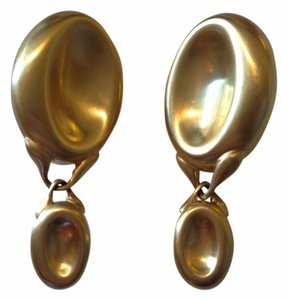 Gucci Dangle Drop Clip On Earrings