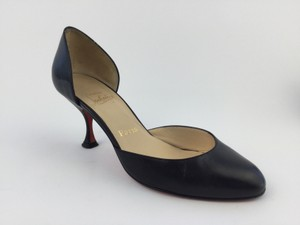 Christian Louboutin Bonnie 70mm D'orsay Black Pumps