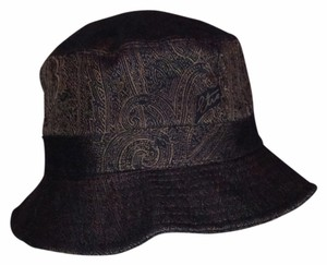 Etro ETRO Brown Paisley Bucket Hat Med