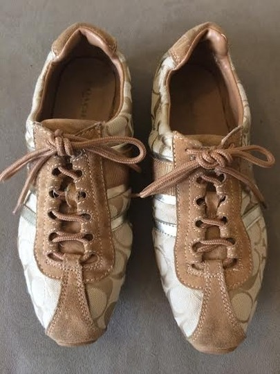 Coach Beige Tan Athletic