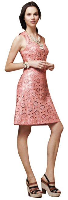 Preload https://item5.tradesy.com/images/maeve-coral-coralshine-above-knee-short-casual-dress-size-petite-10-m-5329999-0-1.jpg?width=400&height=650