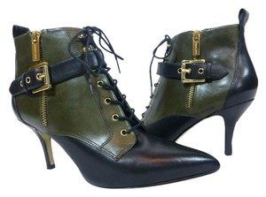 MICHAEL Michael Kors Black and Loden Boots