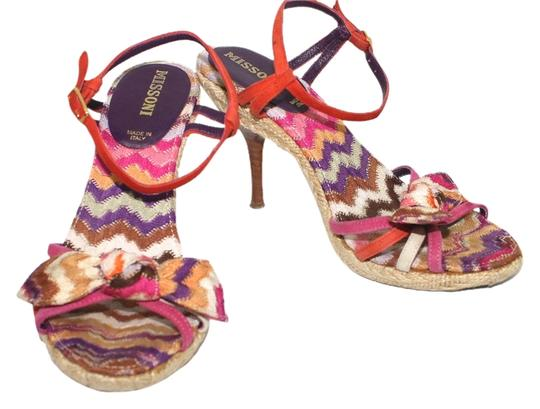 Missoni Italy 6 Ballet MULTICOLOR Sandals