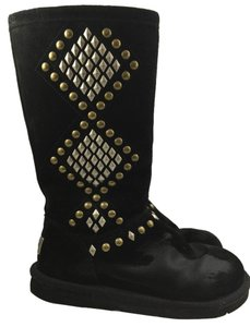 UGG Australia Tall Boot Black Studded Boots