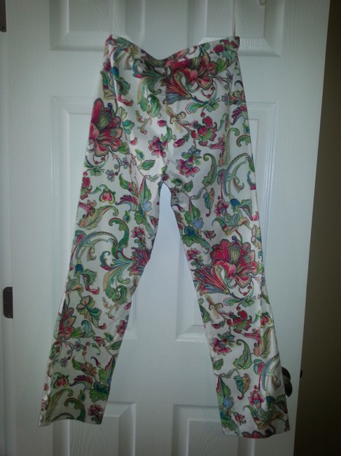 Ralph Lauren Straight Pants white with multiple colors Image 2