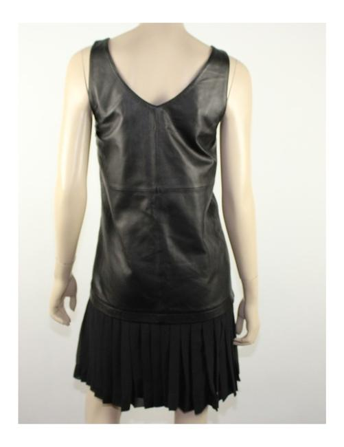 Elizabeth and James Lambskin Dress Image 2