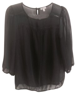 Lily Star Top Black