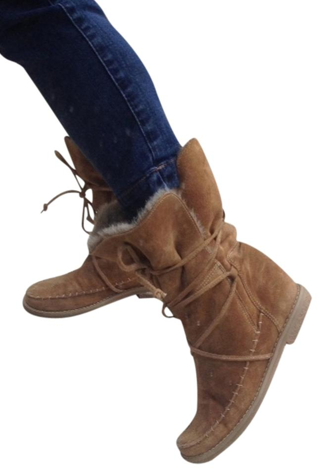 Jack Rogers Tan/Brown Little Nell Nell Little Boots/Booties 7c611e