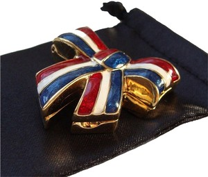 Este Lauder NEW Estee Lauder Collectible Perfume Compact - Patriot Ribbon