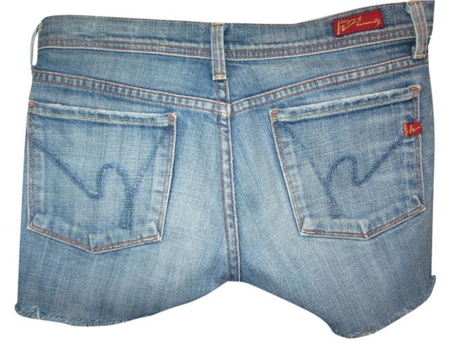 Citizens of Humanity Cut Off Shorts blue denim