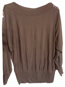 H.L.F Embellished Elatane Viscose Night Out Top gray