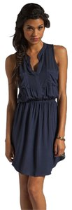Splendid short dress Navy Flowy Henley Neutral on Tradesy