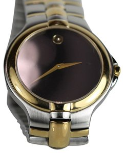Movado Movado Museum Dial Black Dial with Gold Hands