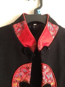 Chinese Laundry short dress Black With Red Jacket on Tradesy