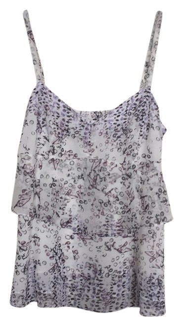 CAbi Top Gray black white