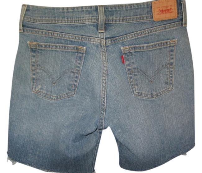Levi's Cut Off Shorts blue denim