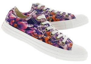 Converse Sneakers Running Flats Floral Runners Multi Athletic