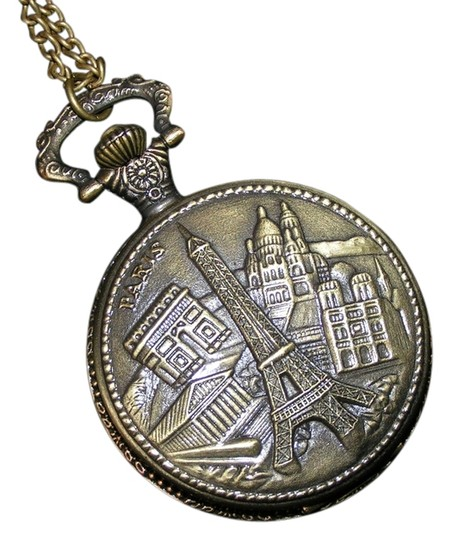 Preload https://item3.tradesy.com/images/unknown-eiffel-tower-bronze-sweater-necklace-pocket-watch-free-shipping-5333692-0-0.jpg?width=440&height=440