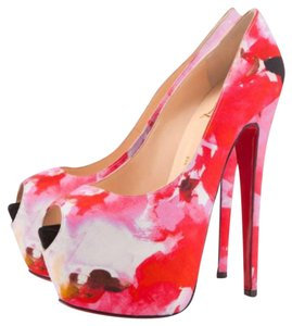 Christian Louboutin Popi Hot Pink Platforms