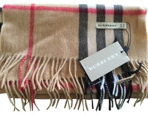 Burberry Burberry Heritage Check Cashmere Scarf