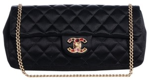 Chanel Flap Precious Jewel East West Shoulder Bag