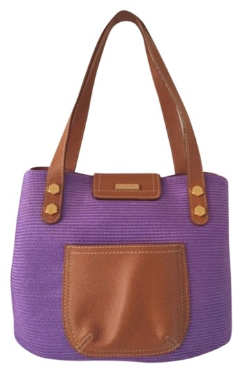 Preload https://item2.tradesy.com/images/eric-javits-shoulder-purple-brown-leather-woven-tote-5334106-0-0.jpg?width=440&height=440