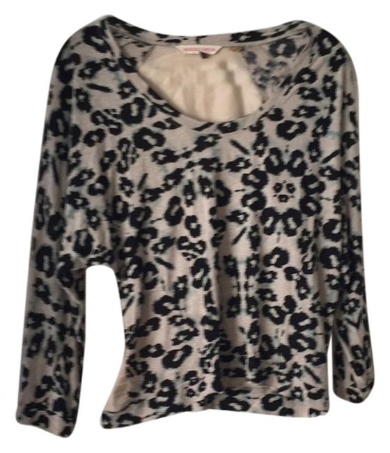 Preload https://item1.tradesy.com/images/rebecca-taylor-black-and-tan-animal-print-blouse-size-12-l-5334235-0-0.jpg?width=400&height=650