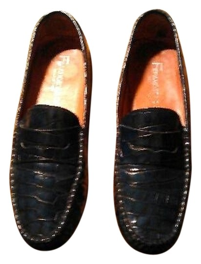Fieramosca & Co. And Co Navy Flats