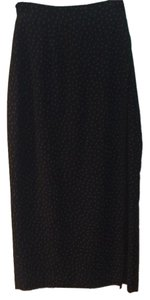 Rena Rowan Skirt Black with white polka dots