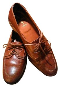 Ralph Lauren Dress Brown Flats