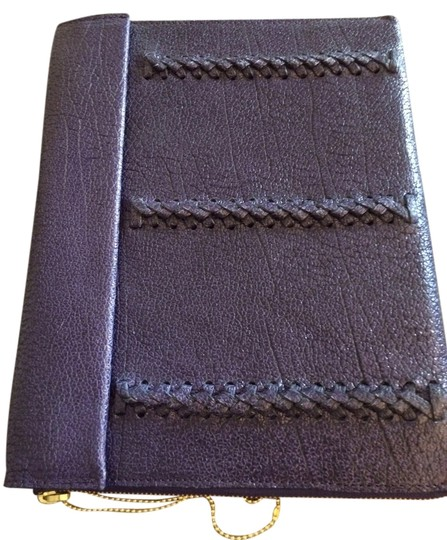 3.1 Phillip Lim Leather Ipad Case Purple Clutch