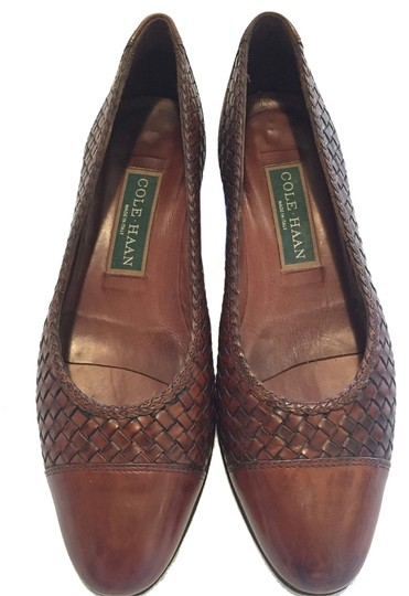 Preload https://item4.tradesy.com/images/cole-haan-italian-woven-weave-brown-pumps-5334973-0-0.jpg?width=440&height=440