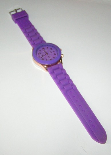 Geneva BOGO Purple sports watch free shipping Image 2