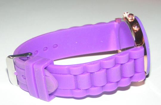 Geneva BOGO Purple sports watch free shipping Image 3