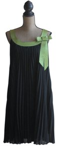 Signature by Robbie Bee Holiday Sleeveless Pleated Evening Dress