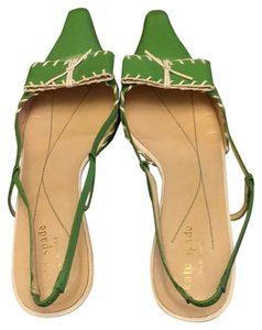 Kate Spade Lime / apple green Pumps