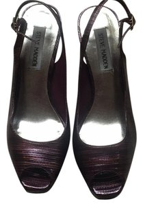 Steve Madden Purple Pumps