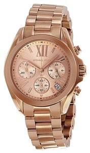 Michael Kors Rose Gold Boyfriend Style Casual Designer Ladies Watch